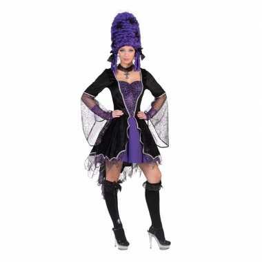 Korte voordelige vampierenkostuum jurk carnaval