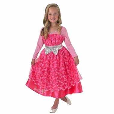 Kostuum barbie leuk verkleedjurk meisjes carnaval