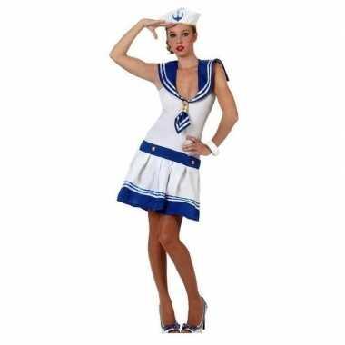 Kostuum carnavalskleding matroos dames