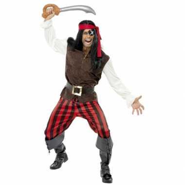 Kostuum  Carnavalskleding piraat heren