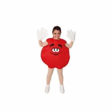 Kostuum  Carnavalskleding snoep rood