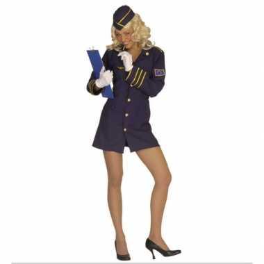 Kostuum  Carnavalskleding Stewardess dames