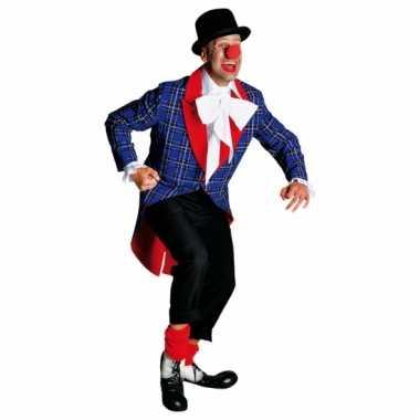 Kostuum clowns jassen carnaval