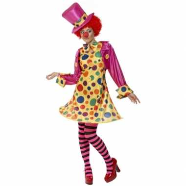 Kostuum  Dames clowns kleding carnaval