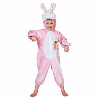 Kostuum  Dieren carnaval kleding konijn kind
