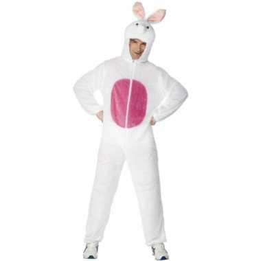 Kostuum  Dieren carnaval kleding konijn volw