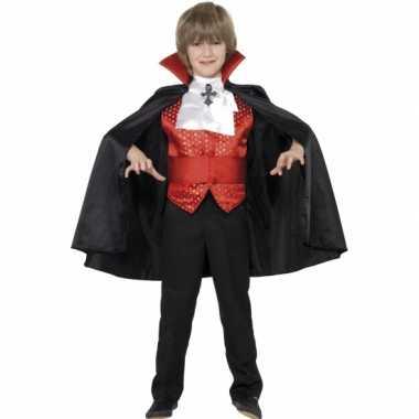 Kostuum  Dracula carnaval kleding kind