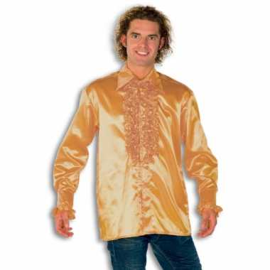 Kostuum goud rouches heren carnaval