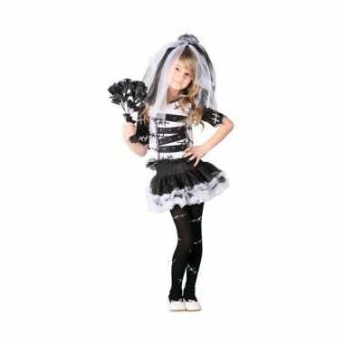 Kostuum halloween zombie bruidsjurk meisjes carnaval
