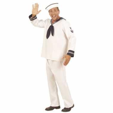 Kostuum  Heren matroos carnaval kleding