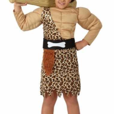 Kostuum  Holbewoners kleding jongens carnaval