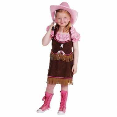 Kostuum  Leuk cowgirl carnaval kleding kind
