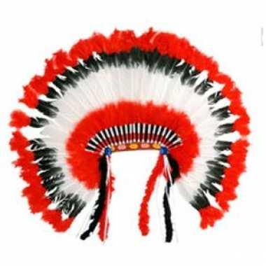 Kostuum  Leuk Hoofdtooien indiaan carnaval