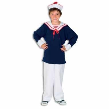 Kostuum  Matroos carnaval kleding kind