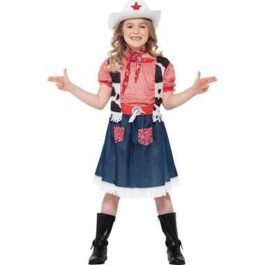 Kostuum meisjes carnaval kleding cowgirl