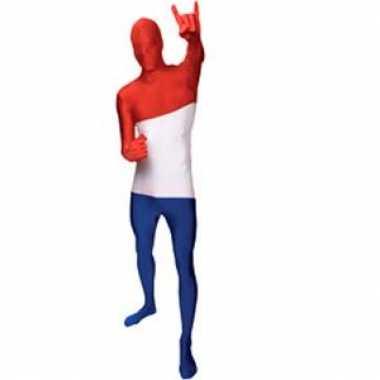 Kostuum Nederlandse vlag carnaval