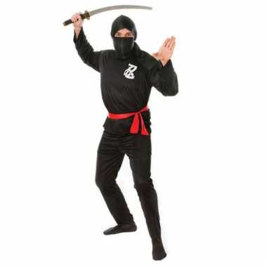 Carnavalskleding Dames Ninja.Kostuum Ninja Carnaval Kleding Volwassenen Kostuum Carnaval Nl