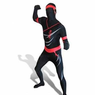Kostuum  Ninja Zentai carnaval kleding volw.
