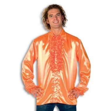 Kostuum oranje rouches heren carnaval