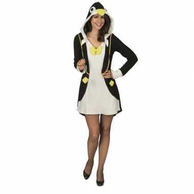 Kostuum pinguin verkleedjurk dames carnaval