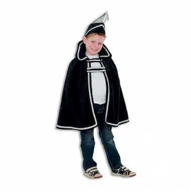 Kostuum  Prins carnaval kinder kleding zwart