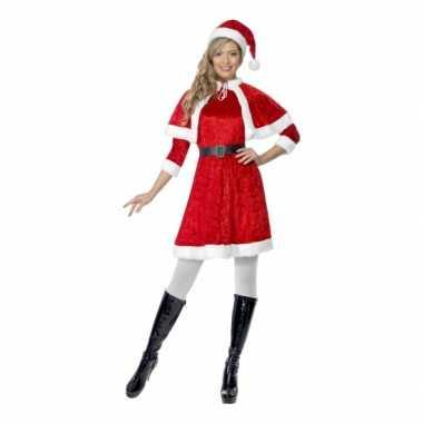 Kostuum  Rode kerstjurkjes dames carnaval