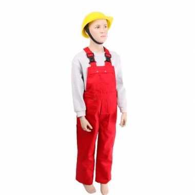 Wonderlijk Kostuum Rode tuinbroek kinderen carnaval | Kostuum-carnaval.nl YA-75