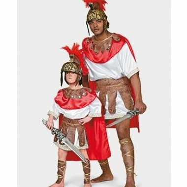 Kostuum romeinse gladiator carnaval kleding