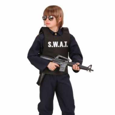 Kostuum  S.W.A.T. kogelvrij vest kinderen carnaval