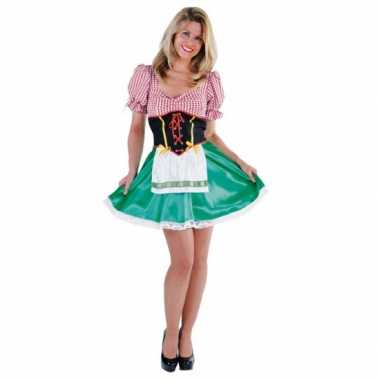 Kostuum sexy tiroler carnaval kleding dames