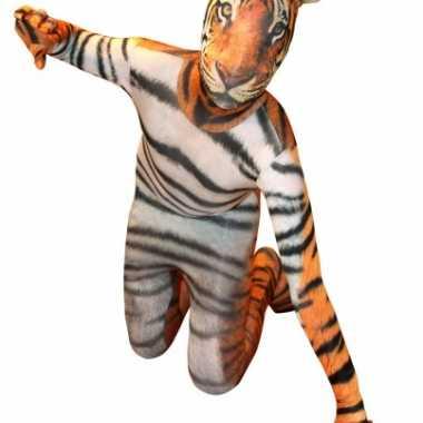 Kostuum tijger print kids carnaval