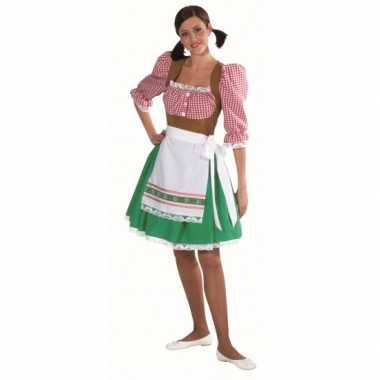 Kostuum  Tirol carnaval kleding dames