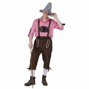 Kostuum  Tiroler tuinbroek heren carnaval