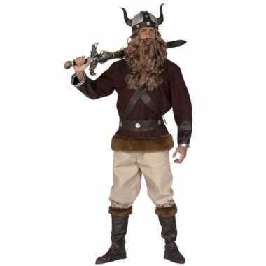 Kostuum  Viking carnaval kleding heren