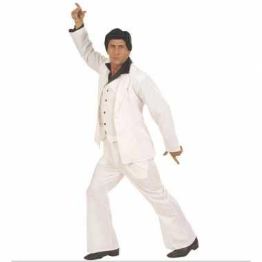 Kostuum  Witte disco heren kleding carnaval