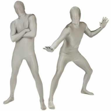 Kostuum zilver carnaval