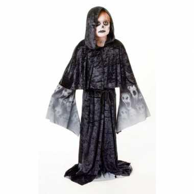 Kostuum  Zwarte gothic gewaad jongens carnaval
