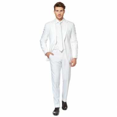 Leuk kostuum heren wit carnaval