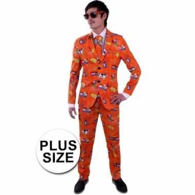 Leuk nederland kostuum grote maat heren carnaval