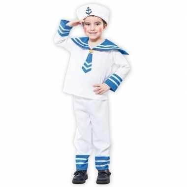 Matrozen kostuum een jongen carnaval