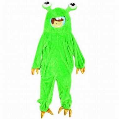 Monster kostuum Gumbly kinderen carnaval