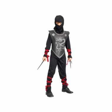 Ninja kinder kostuum carnaval