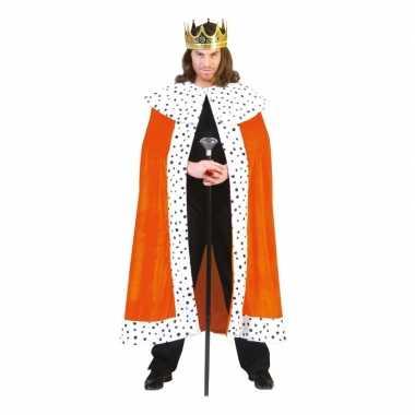 Oranje koningskostuum volwassenen carnaval