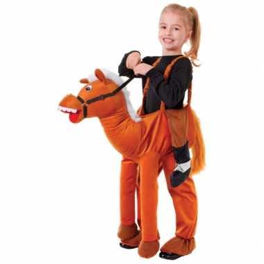 Paardrij kostuum kinderen carnaval
