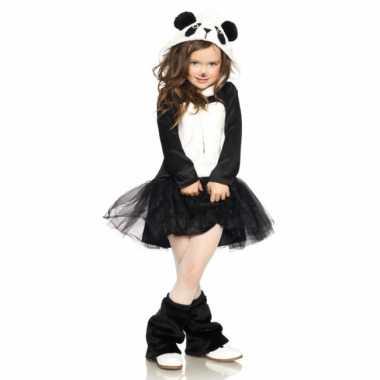 Pandabeer kostuum jurkje meisjes carnaval