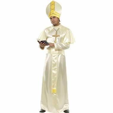 Paus kostuum compleet carnaval