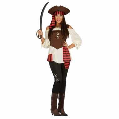Piraten broek kostuum dames carnaval