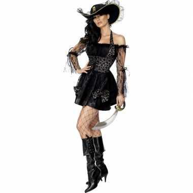 Piraten kostuumje dames zwart carnaval