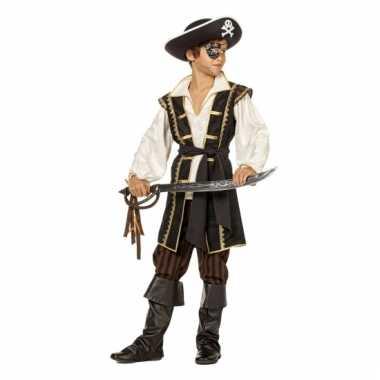 Pirates of the Caribbean bruin kostuum jongens carnaval