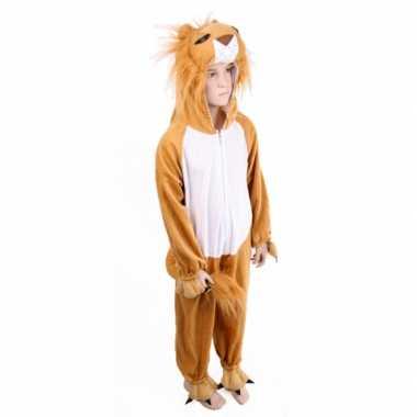 Pluche leeuw kostuum kids carnaval